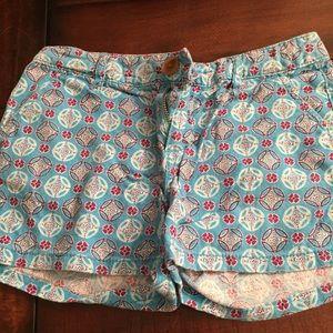 EUC Old Navy girls linen shorts size 12